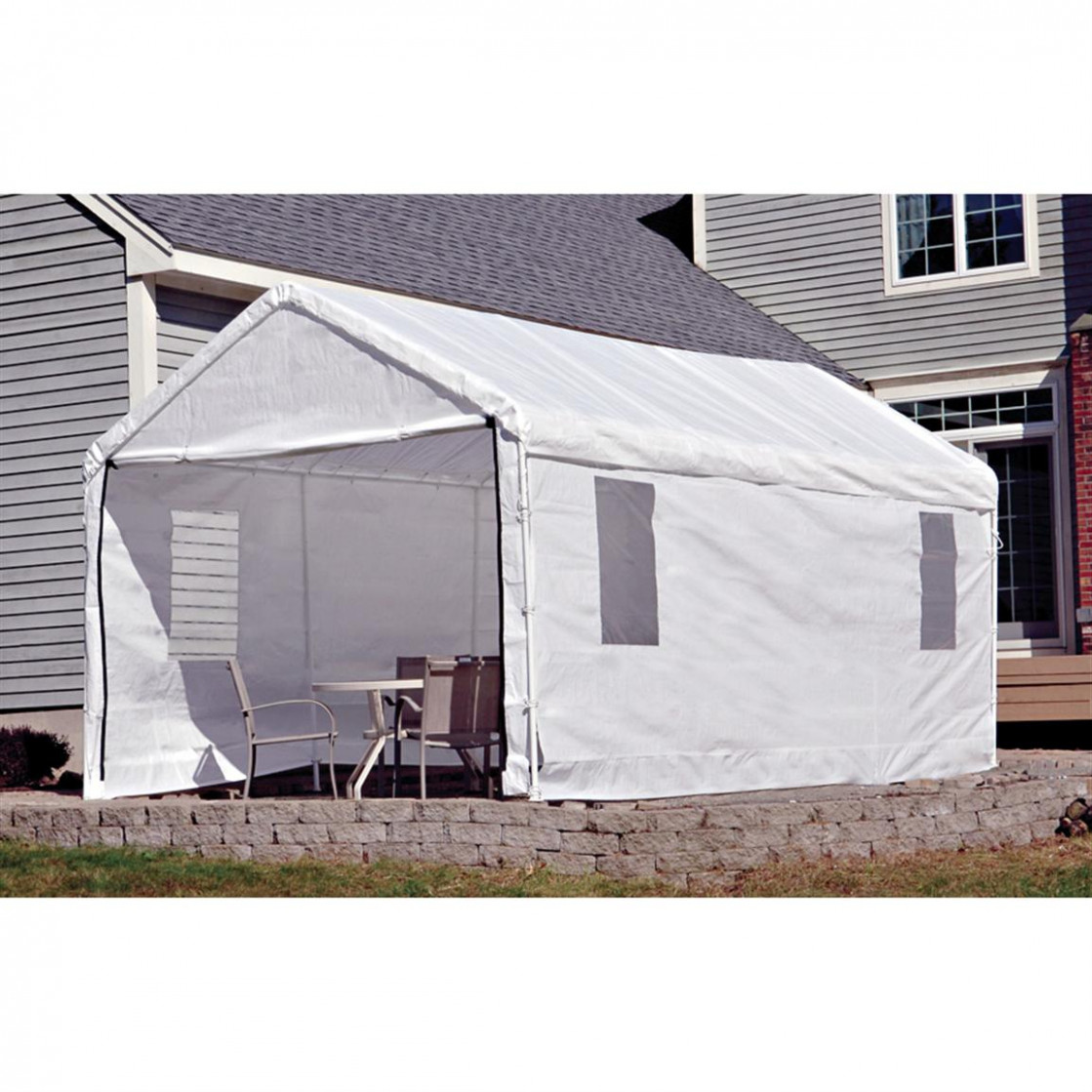 shelterlogic 7×7 canopy carport instructions