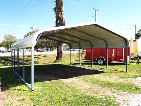 Portable Metal + Steel Carports | Buildings And More Portable Carport Buildings