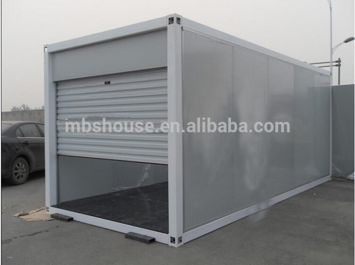 Prefab Car Garage Container Carport,Storage Container In ..