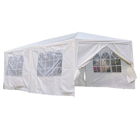 Qisan Canopy Tent Carport 13 X 13 Feet Domain Carport With Sidewalls ..