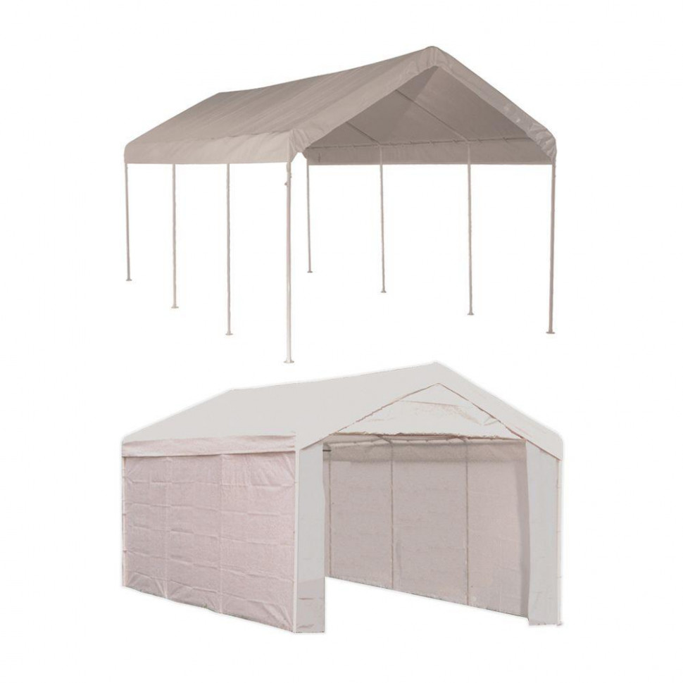 ShelterLogic Max AP 100 Ft. X 100 Ft. 100 In 10 White Canopy With ..