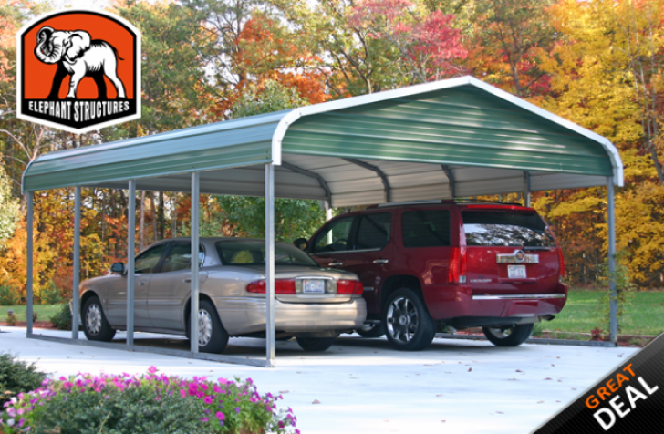 Permalink to Five Benefits Of 14 Car Metal Carport That May Change Your Perspective | 14 car metal carport
