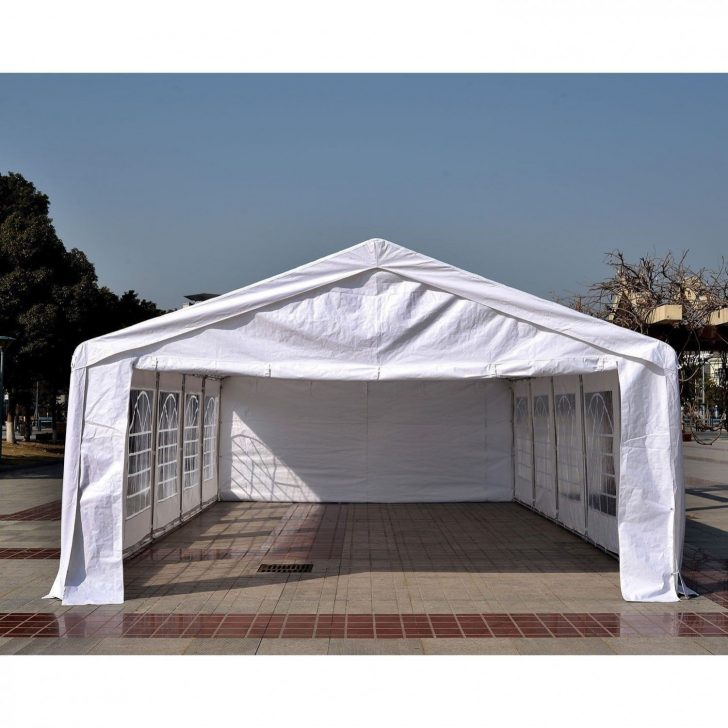 Permalink to Outsunny white carport party tent canopy