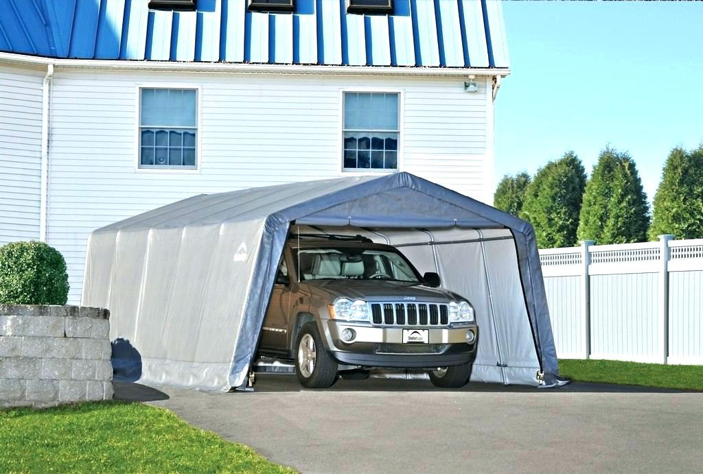 Portable Garage Harbor Freight Carport Canopy Harbor ...