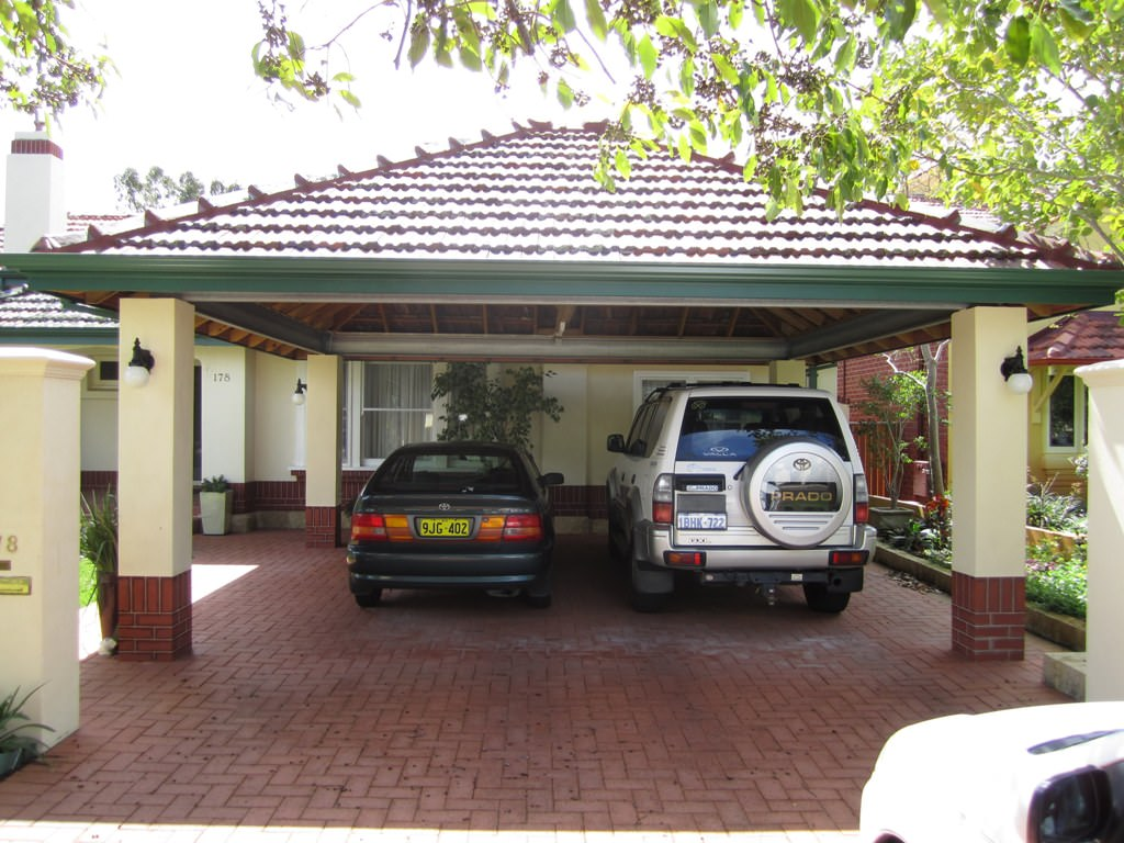 Brick Carport Designs