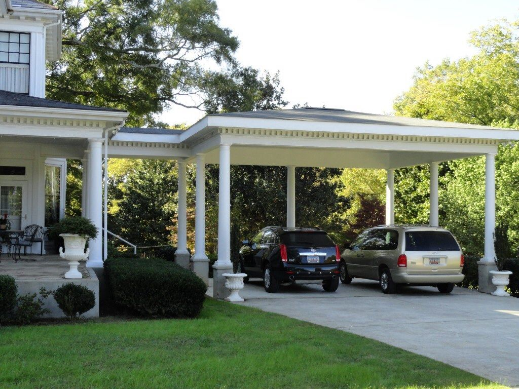 Carport Attached Garage Plans With Breezeway
