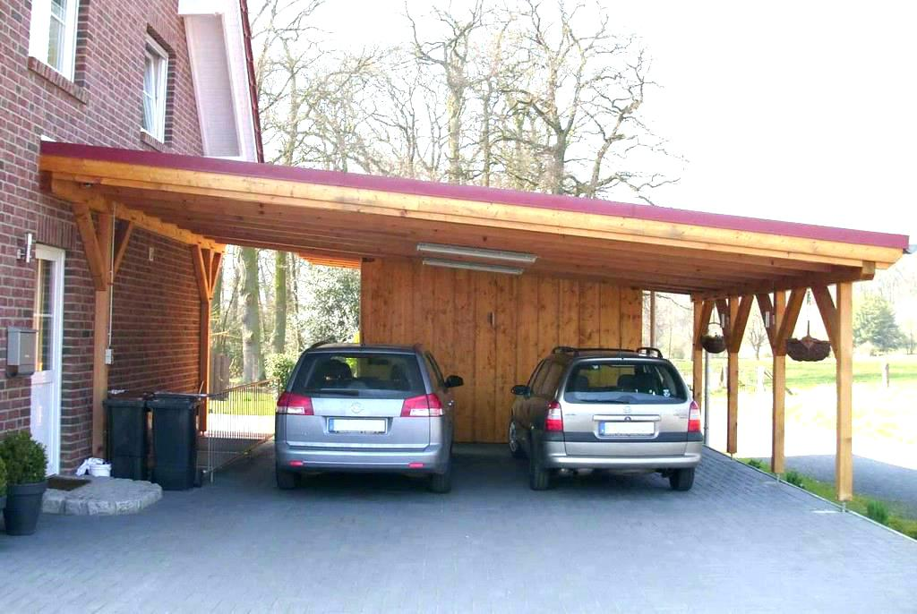 Carport Cost Build Wood Full Size Of A Cheap