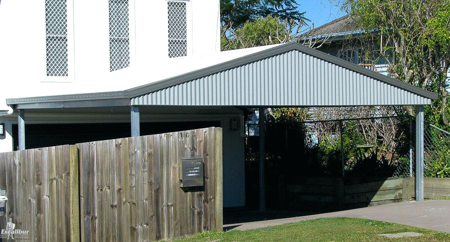 Carport Kit Kits Brisbane Prices Wooden Free Standing Kitset (1)