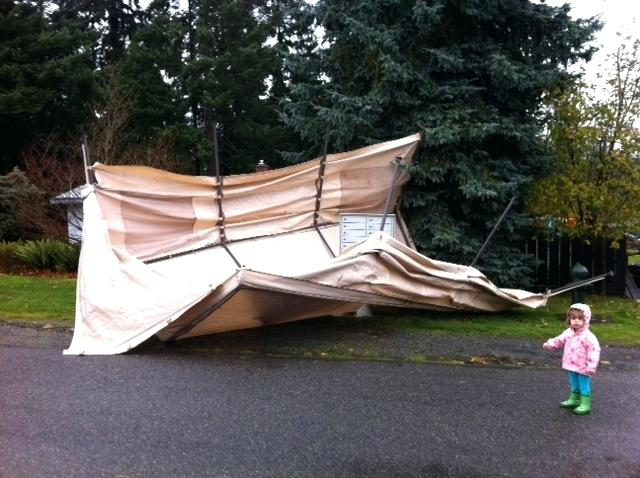 Carport Tent Costco Barn Blown Over Not At Burning Man Photo By Home Improvement Stores Near Me