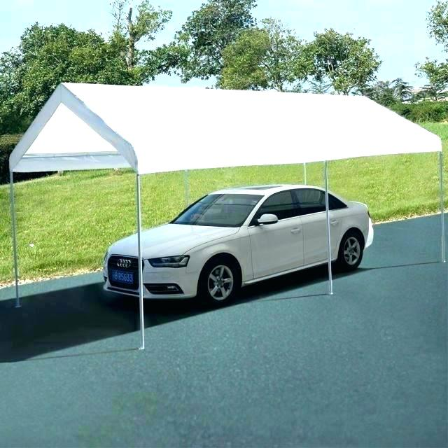 Costco Carport Cover Car Canopy Canopy Steel Frame Canopy Shelter Portable Car Carport Garage Cover Party Tent X Costco Carport Cover Replacement