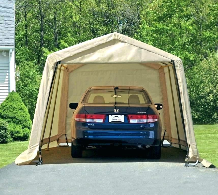 Costco Portable Garage Tent Portable Garage Steel Frame Canopy Pop Up Full Size Of Metal Carport Car Portable Garage Portable Garage Home Design Idea