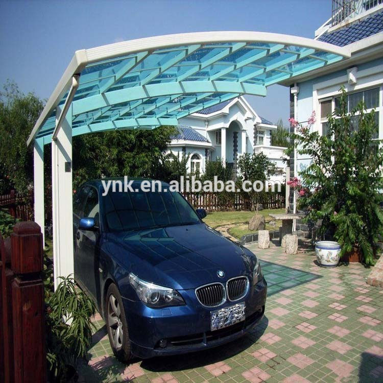 Low Price Reinforced Carports Garages With Polycarbonate (1)