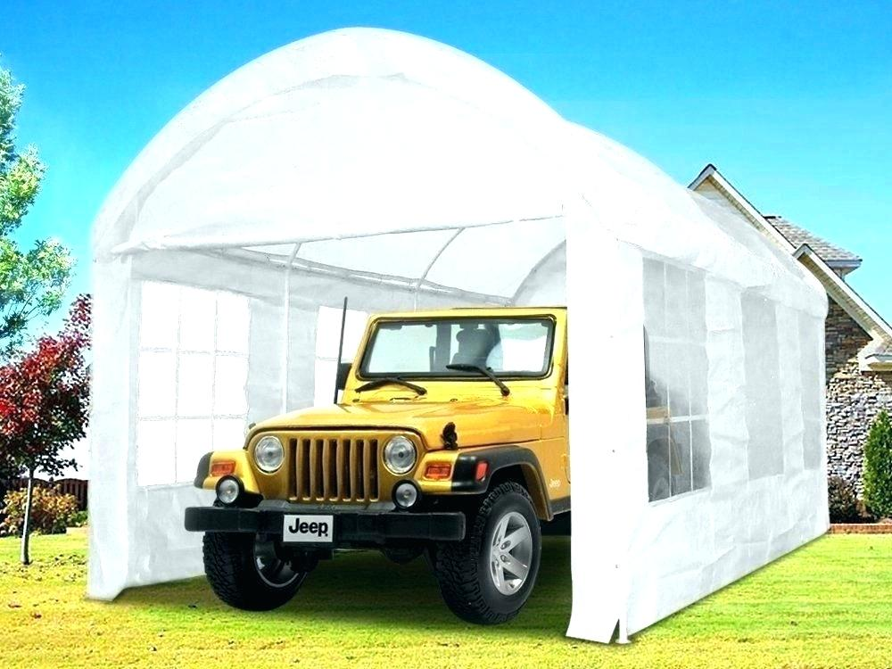 portable garage replacement cover car 10×20 portable garage replacement canopy