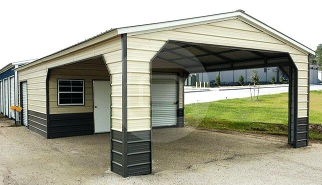 Portable Metal Carport Carports Canada Garage Near Me