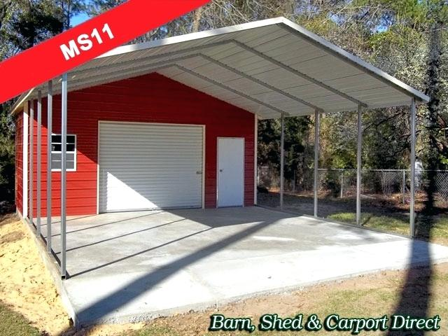 Small Metal Carports For Sale Carport With Storage Shed Attached Incredible Barn Direct Metal Carports Sheds For Sale Home Ideas