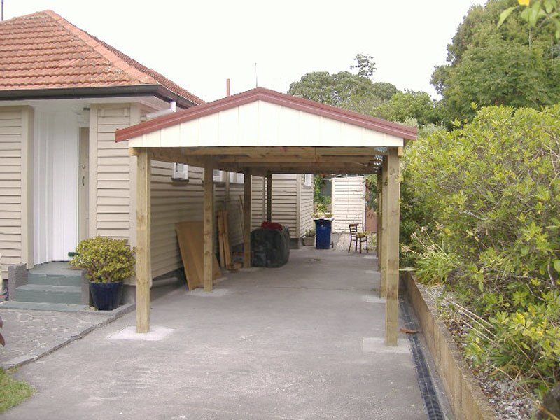 Wonderful Portable Carport Nz Timber Gable Carport (1)