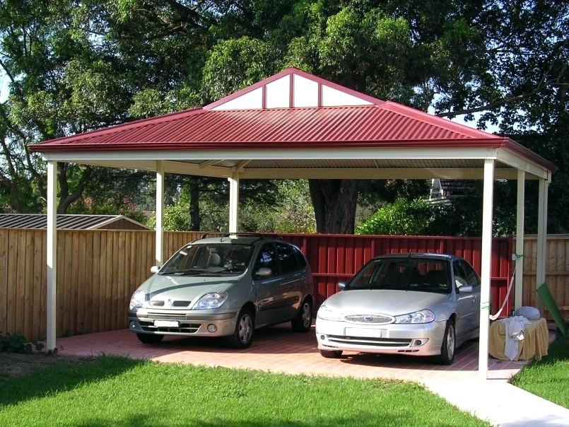 Wood Carport Kits Garage Carports Cantilever Pitched Roof Wooden Uk