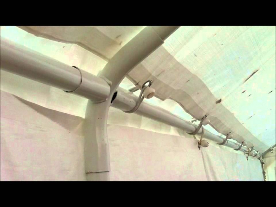 Harbor Freight 12 X 12 Canopy Assembly Tips YouTube How To Assemble A Portable Carport