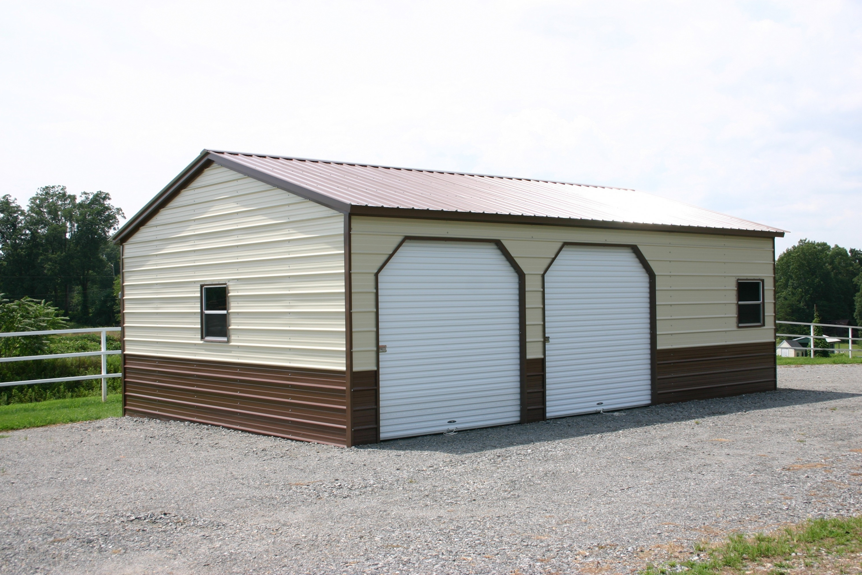 Portable Storage Buildings Sheds Carports Metal Steel Garages with ...