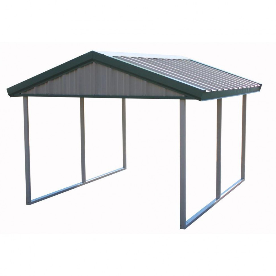 PWS Premium Canopy 10 ft. x 12 ft. Light Stone and Patina ...