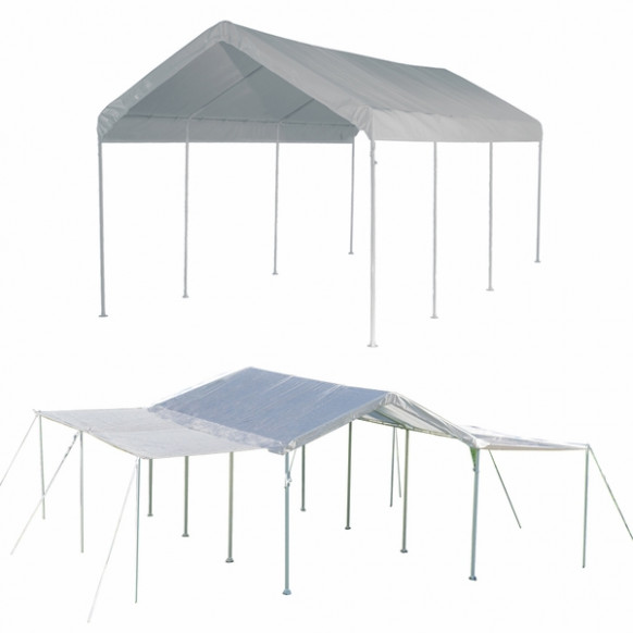 ShelterLogic 10 x 20 Max AP 8 Leg Canopy Shelter with ...
