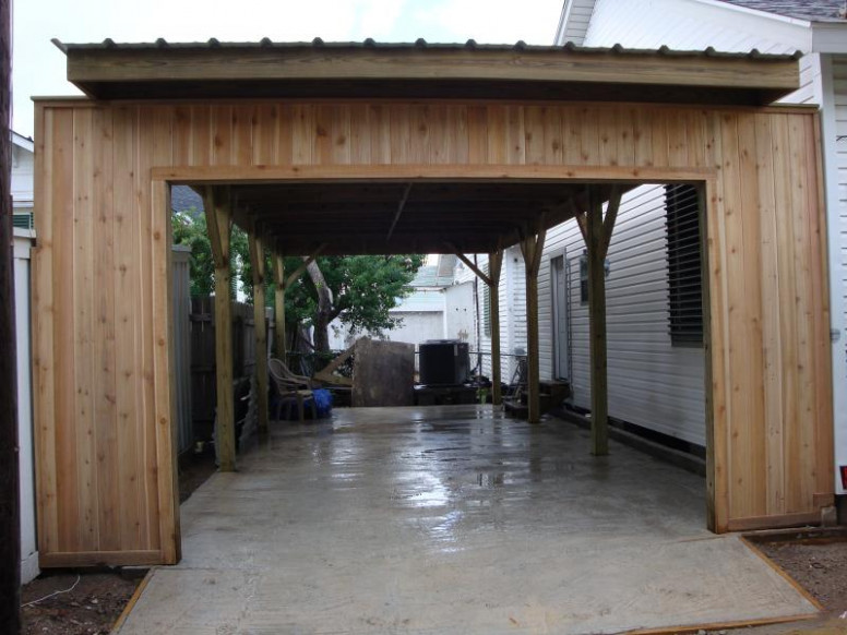 Serious Construction No Job Too Big Wooden Enclosed Carport.jpg