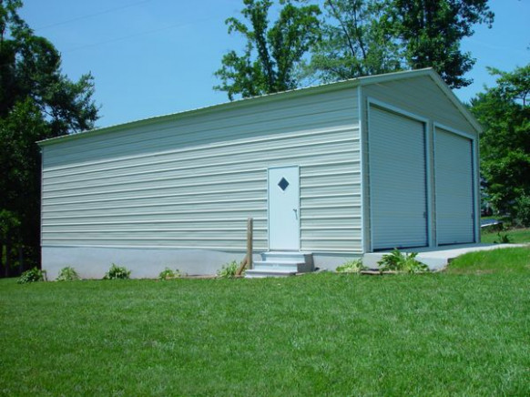 Enclosed Garage Carports Carolina Carports Metal Carport Enclosed With Wood.jpg