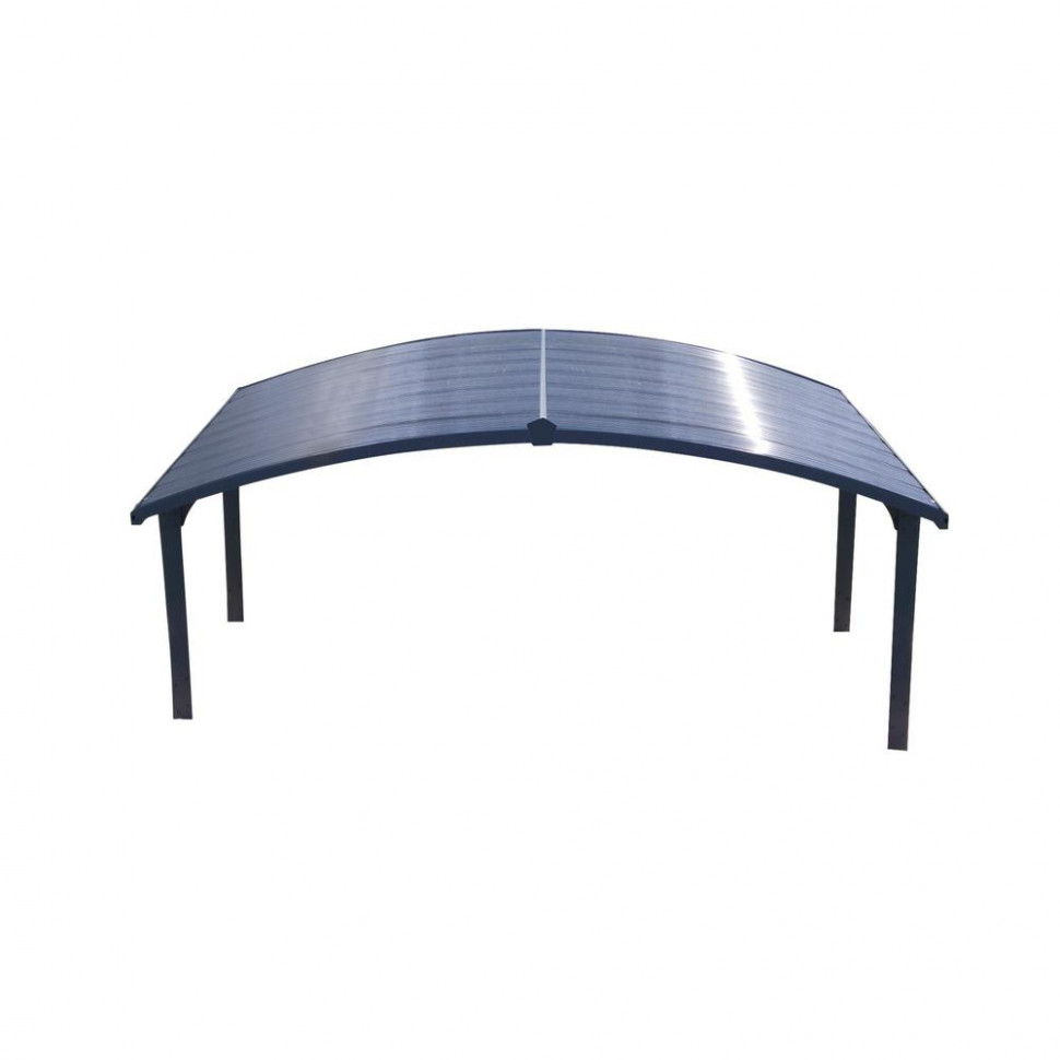 Palram Arizona 8 Wave 8 Ft 8 In X 18 Ft 8 In X 8 Ft H Carport With Corrugated Solar Gray Polycarbonate Roof Panels Palram Hg9105 Arizona Wave 5000 Carport.jpg