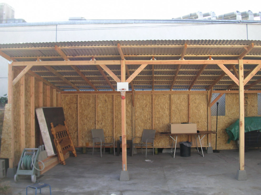07 'Carport' Finished Front Shot Carports With Metal Roof