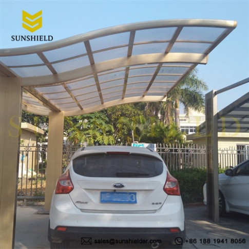 1 Car Carport Polycarbonate Car Shelter Ideas Metal ..