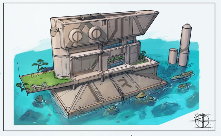 1000+ Images About Sci Fi Facilities On Pinterest ..