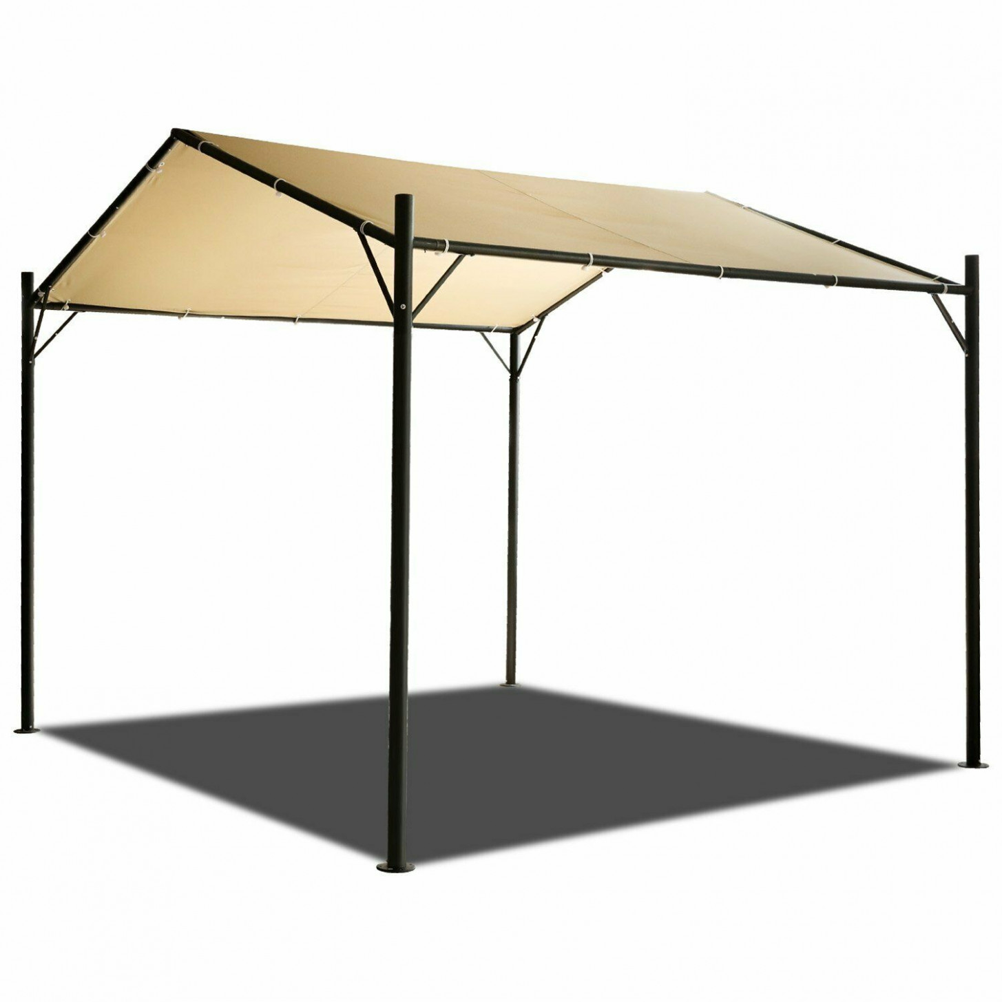 10x10FT Heavy Duty Carport Canopy Garage Car Shelter Tent ..