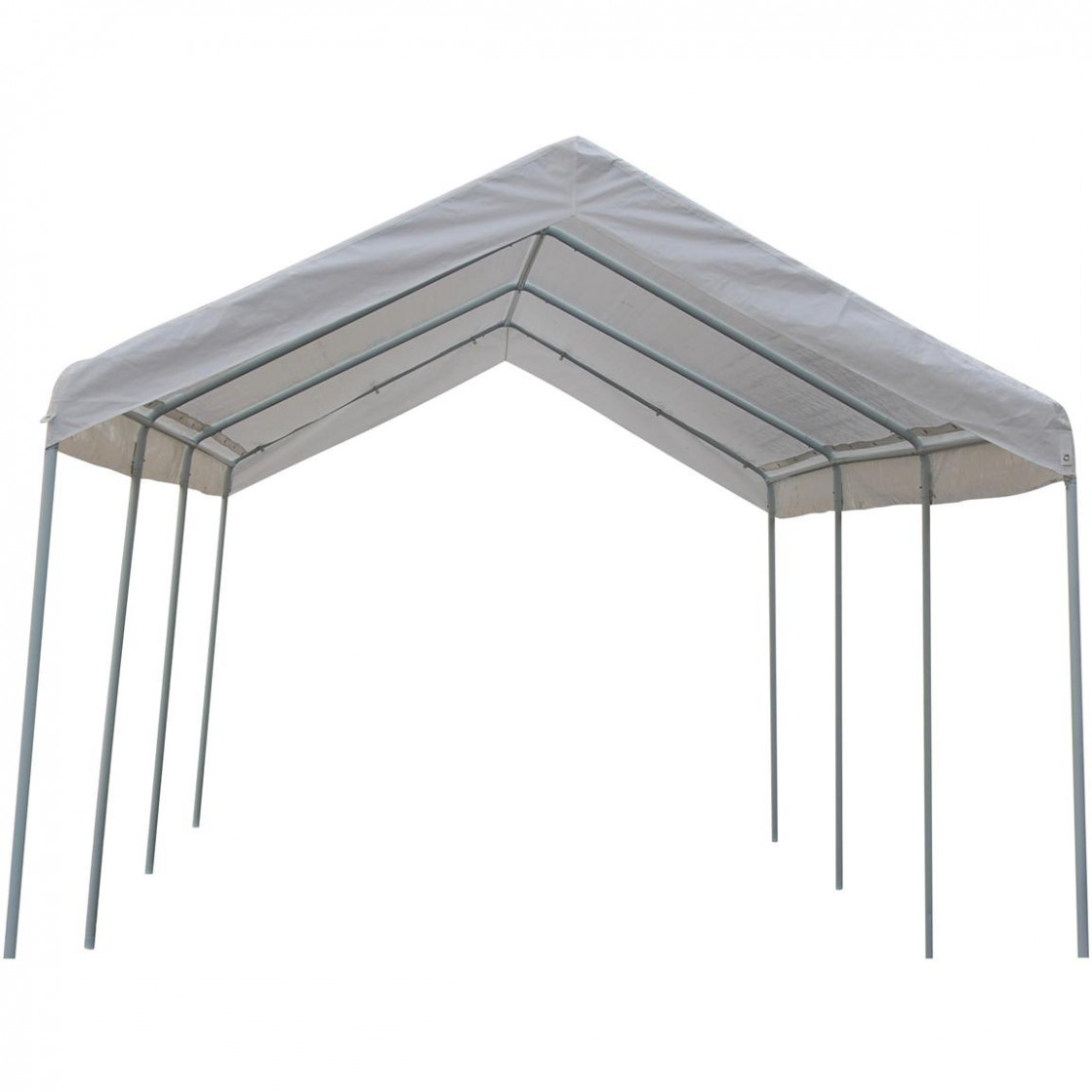 10x20' Canopy Carport With Side Walls 115407, Garage ..