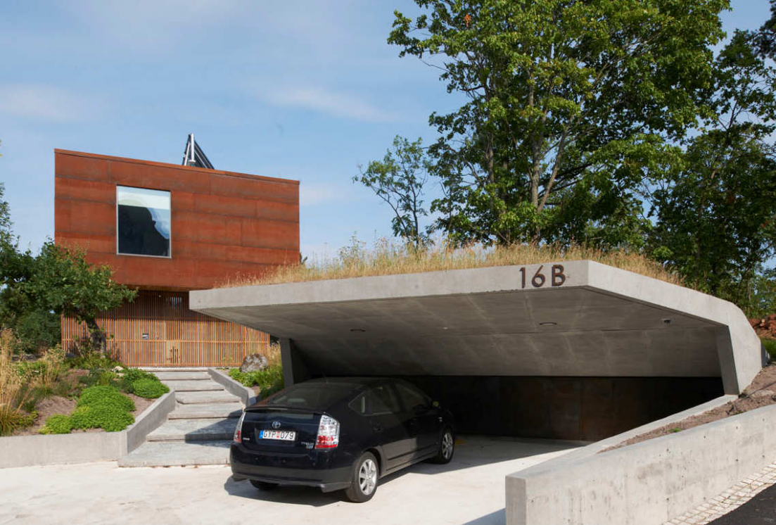 11 Car Garage Concepts That Are More Than Just Parking Spaces Carport Facade Ideas