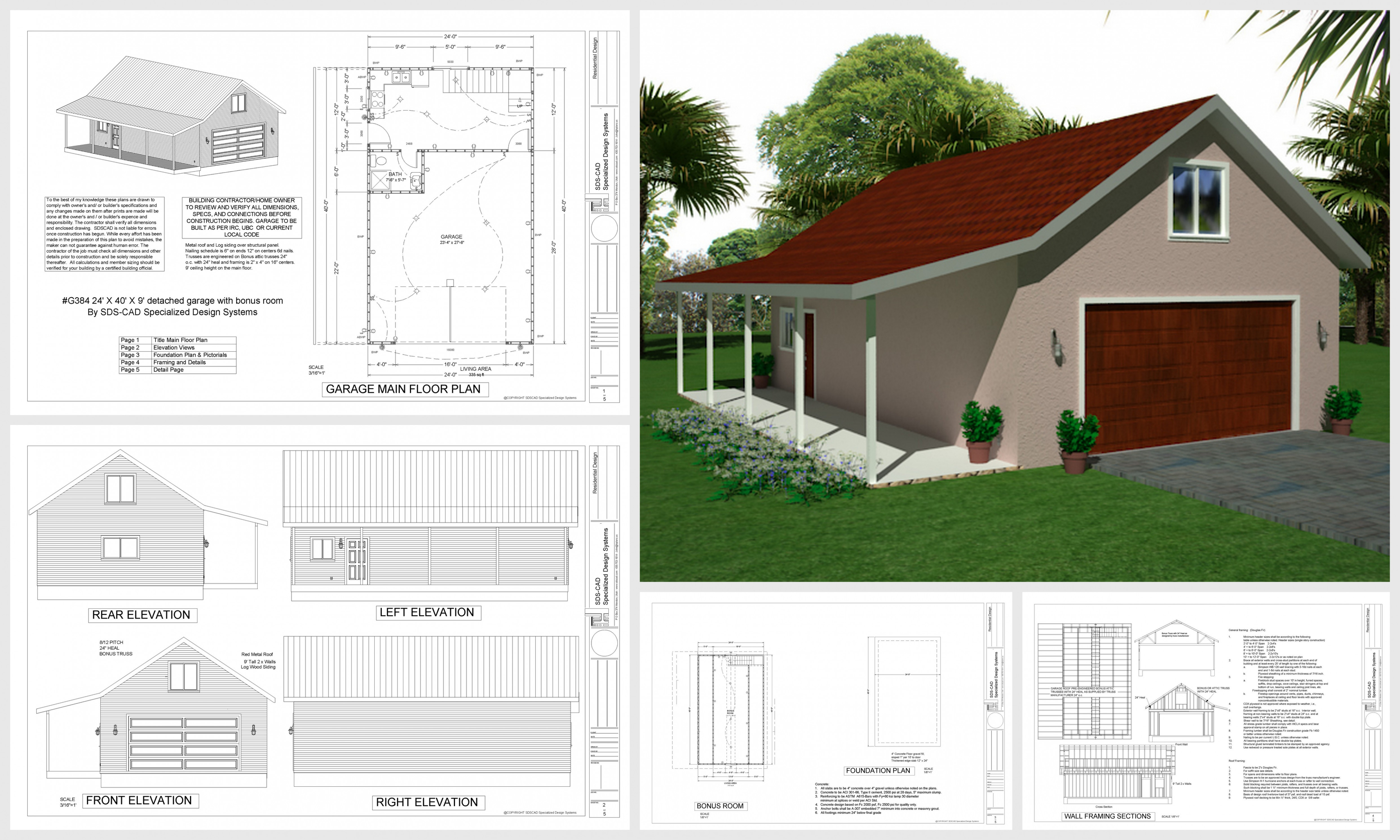 11 FREE Detailed DIY Garage Plans With Instructions To ..