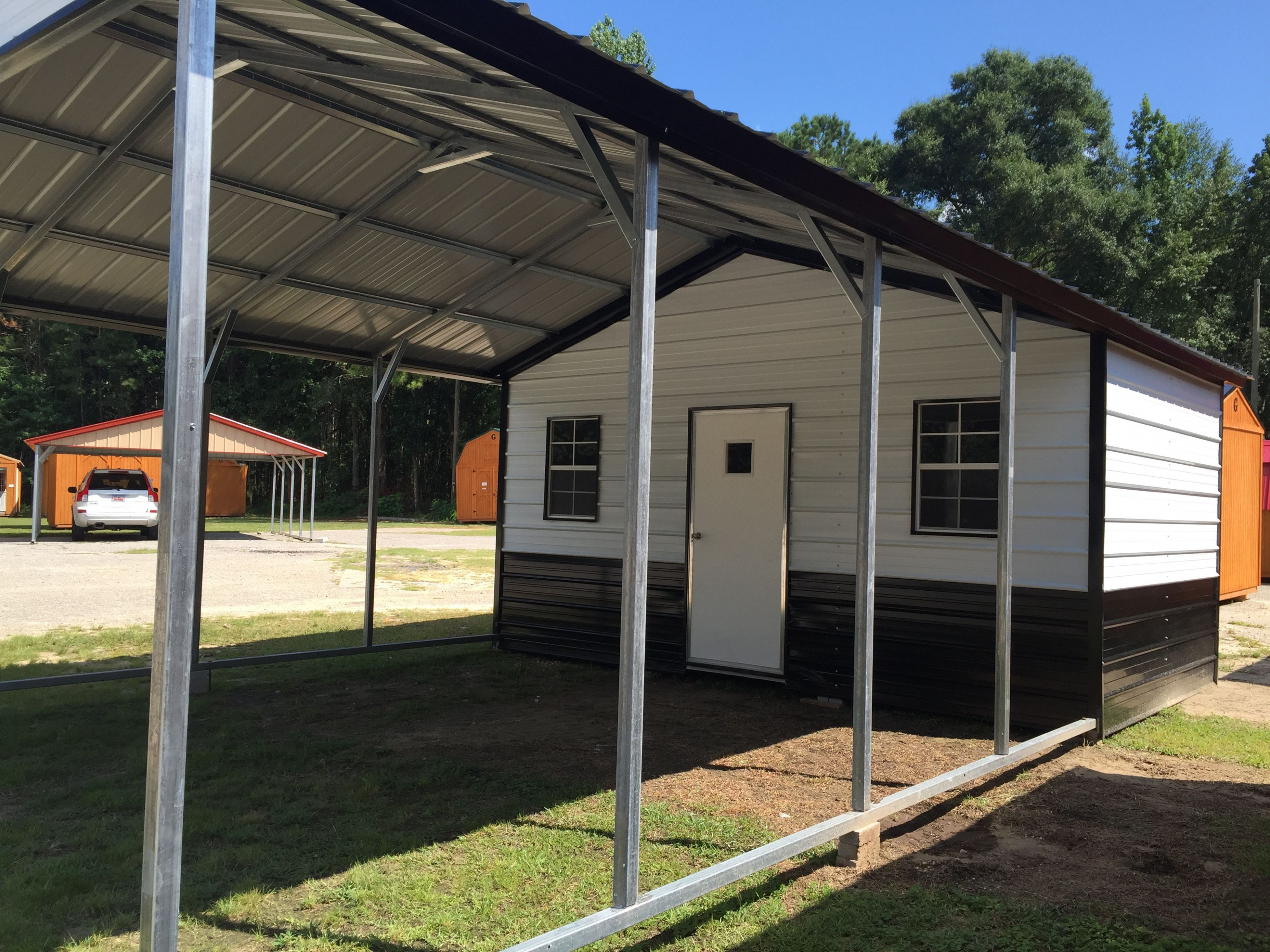11x11 Carport And Storage Combo! Visit Our Dealership For ..