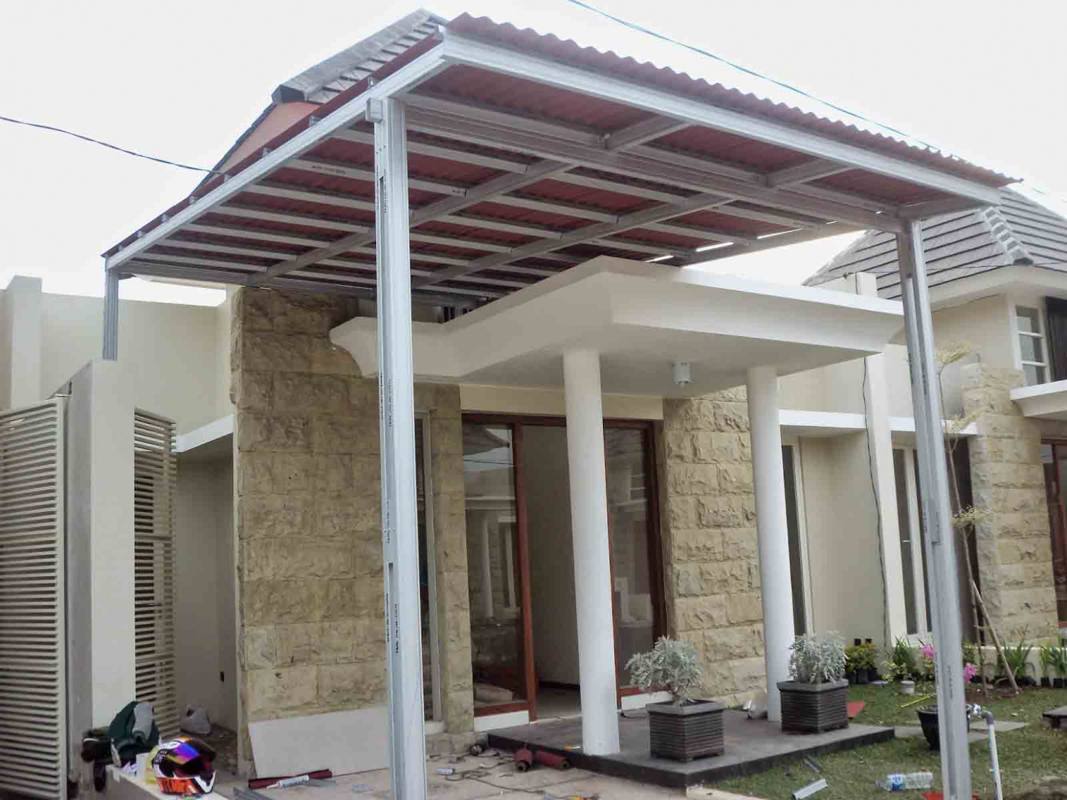 12 Images Of A Minimalist Home Canopy Model | Design Home Canopy Carport Minimalis