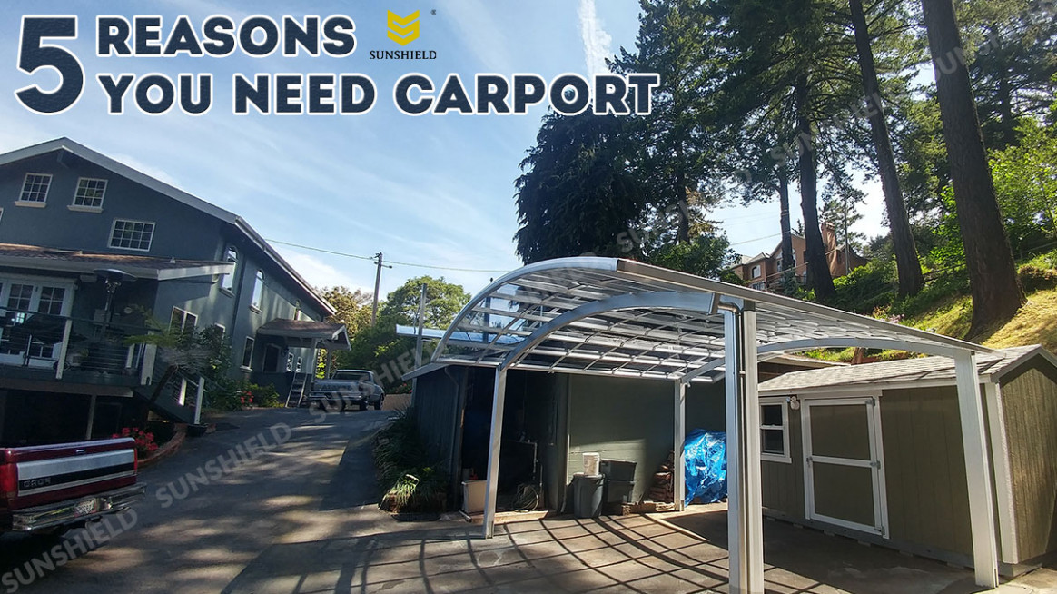 12 Reasons Why You Need Carport? - SunShield
