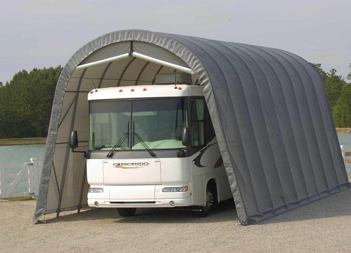 12 Reasons Why You Need RV Storage And RV Protection Wooden Rv Carport