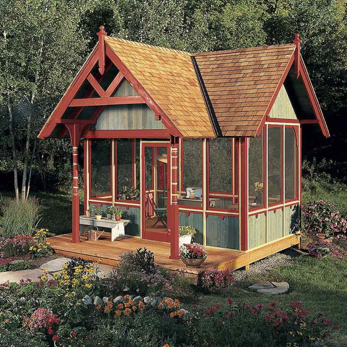 12 Tips For Turning A Shed Into A Tiny Hideaway | The Family ..