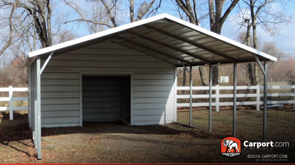 12' x 12' Carport Boxed Eave Roof