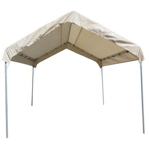 12 X 14 TAN 12mil Valance Replacement Top Cover Canopy ..