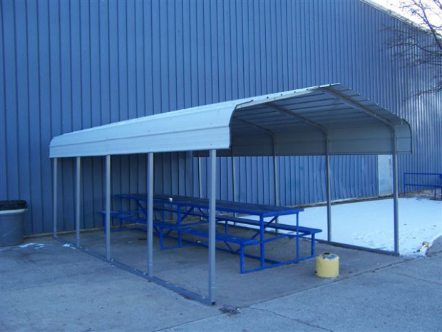 12 X 20 X 8 Steel Carports | Quickgarage