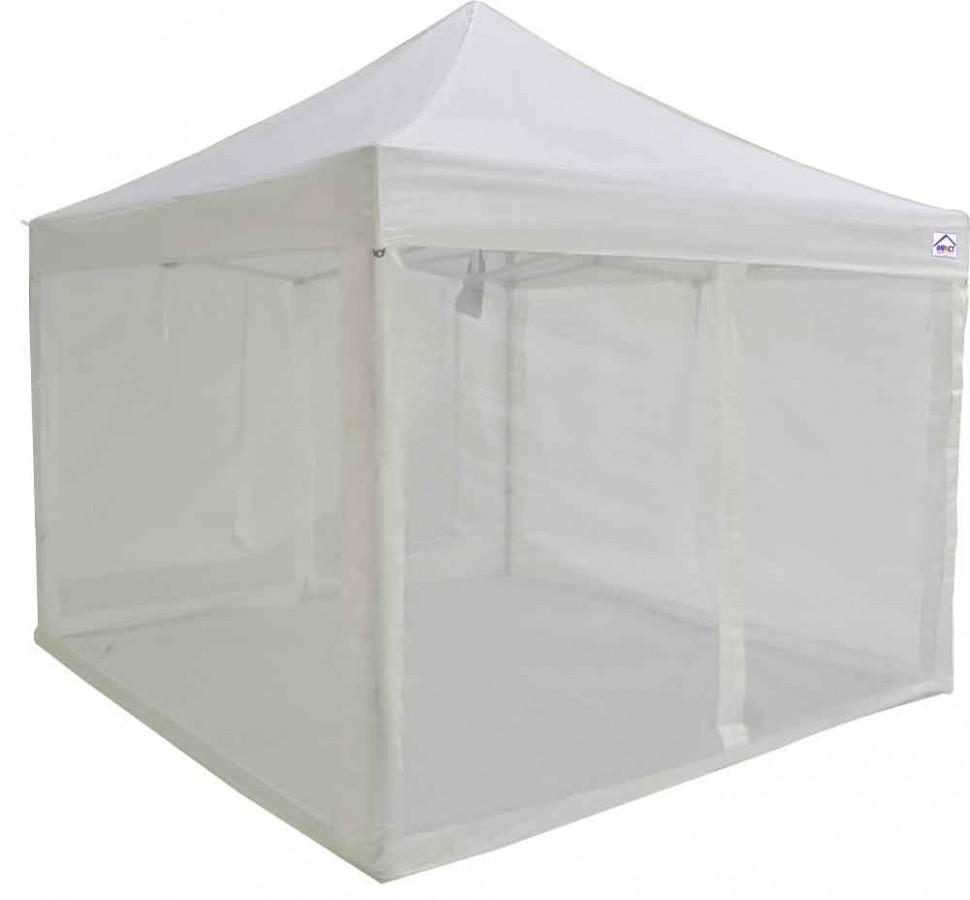 12x12 ALUMIX Pop Up Canopy Tent Market Canopy With Sidewalls And Screen Walls Carport Canopy With Sidewalls
