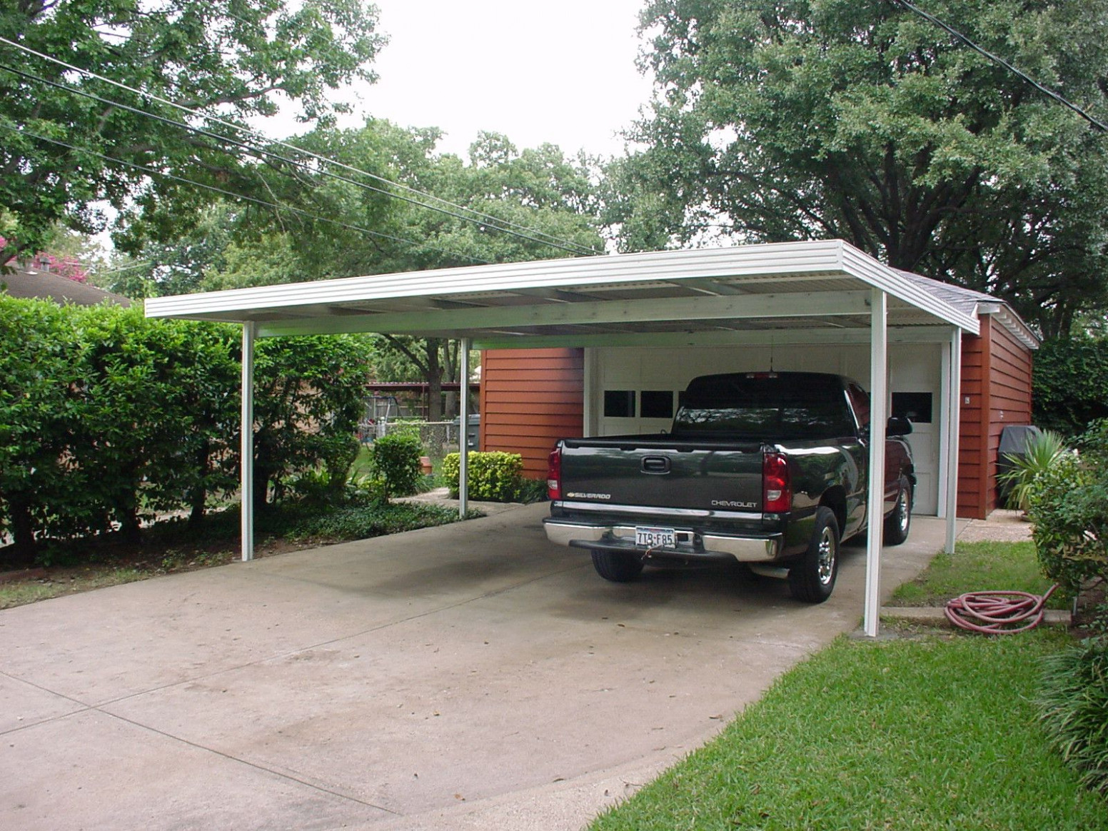12x12 Carport Attached To Home Modernhomepatio.com ..