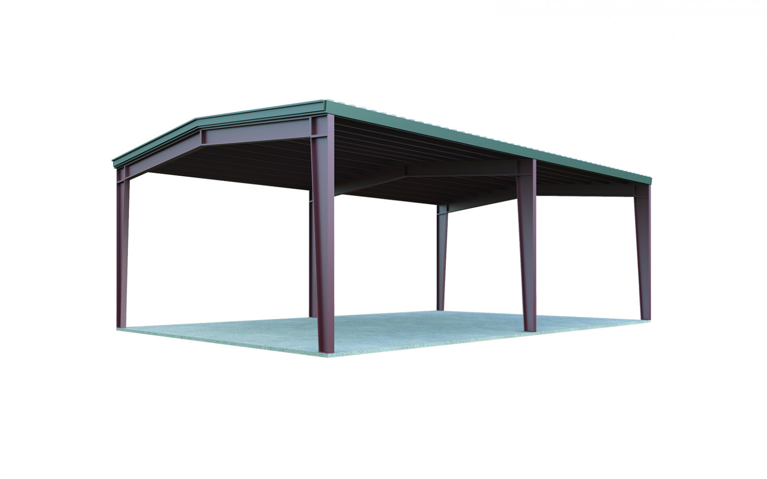 12x12 Metal Carport: Perfect For 12 Cars | General Steel Shop Wooden Carport Prices