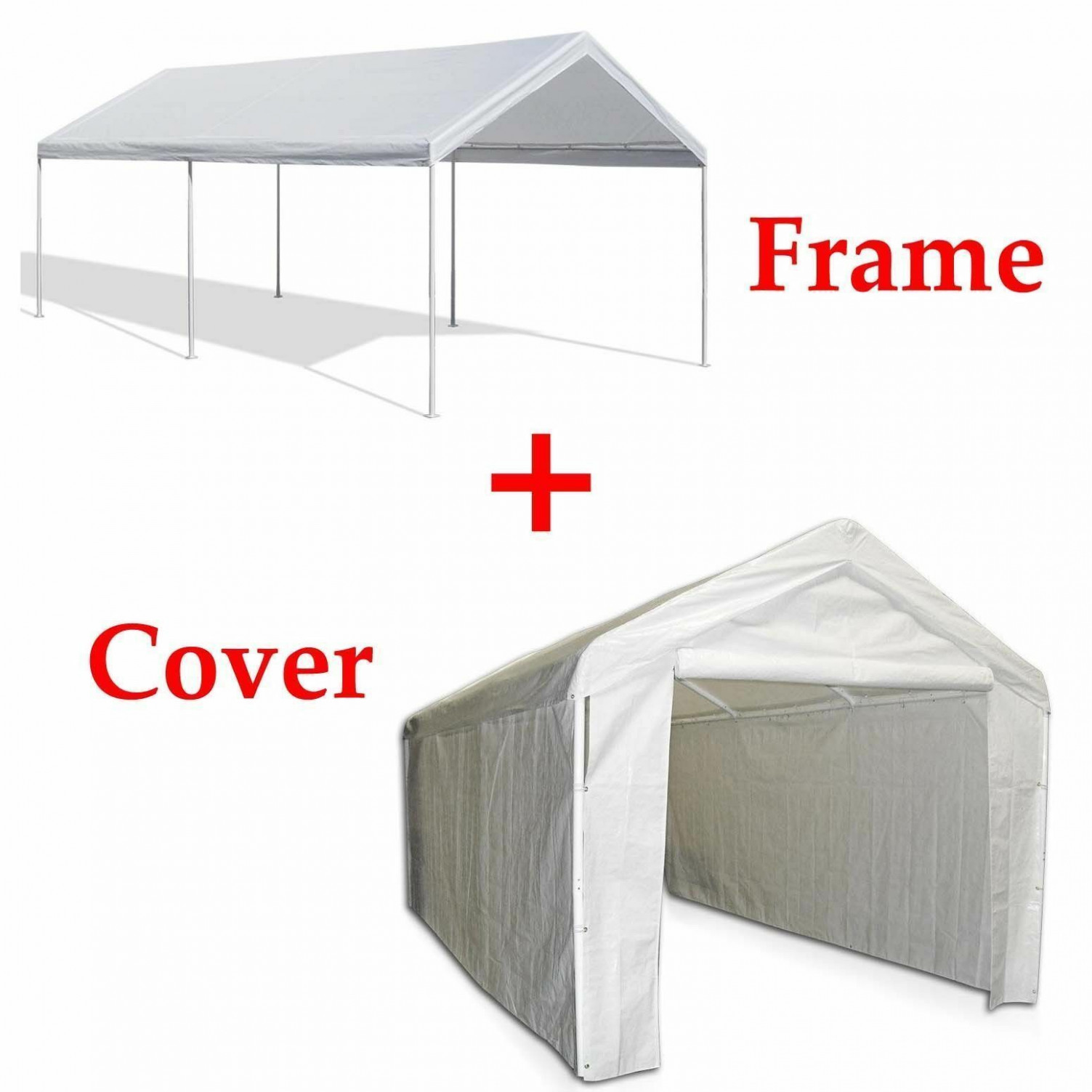 12x12 Outdoor Carport Canopy Car Shelter Frame Garage Cover Tent Portable Gazebo Used Carport Canopy