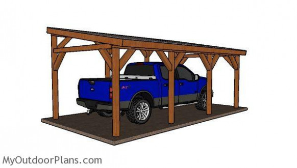 12x24 Do It Yourself Lean To Carport Plans ..
