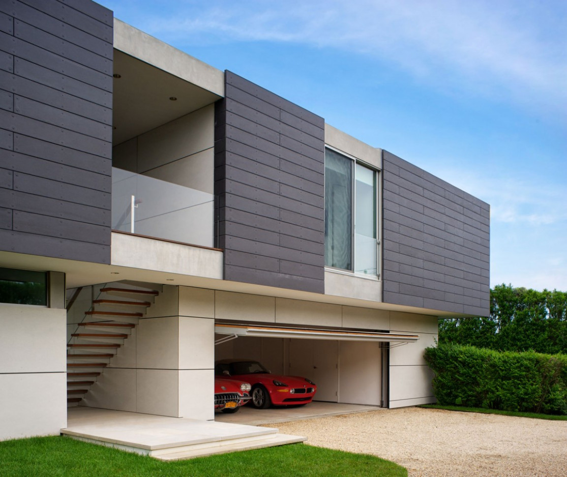 13 Car Garage Concepts That Are More Than Just Parking Spaces Carport Parking Ramp