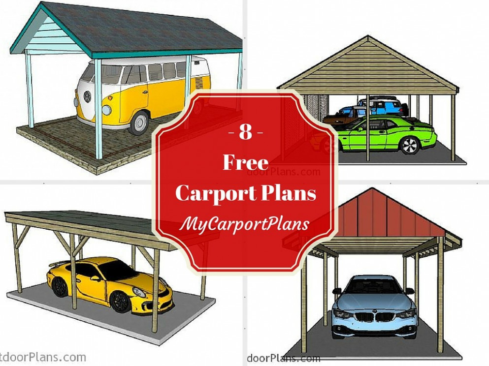 13 Free Carport Plans How To Build A Wooden Carport